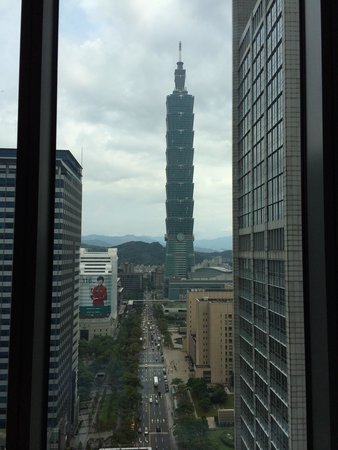 W Taipei : View from room