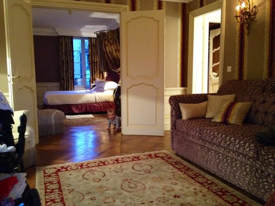 Hotel Le Saint Paul: Junior Suite