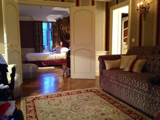 Hotel Le Saint Paul : Junior Suite
