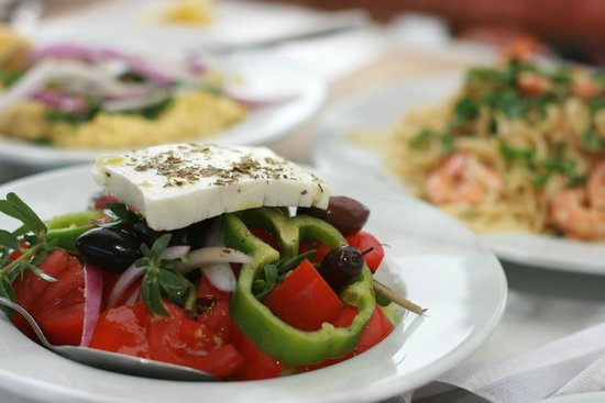 Ammos Hotel: Even the food looks beautiful