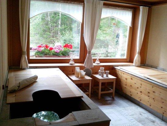 Hotel Aqua Bad Cortina: le vasche