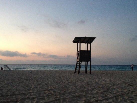 Hotel Riu Playacar: Sunrise