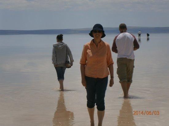 Lake Tuz: It's shallow!