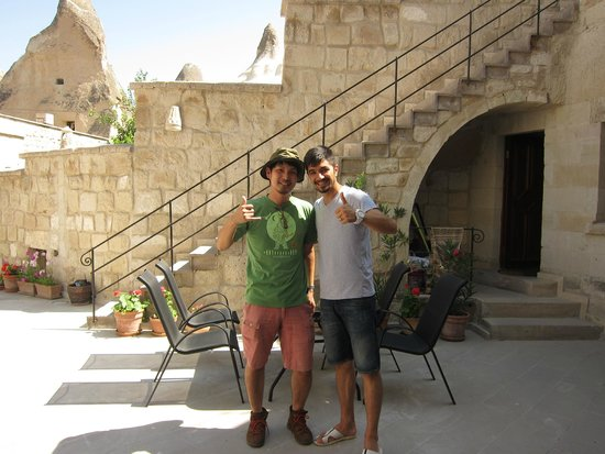 Vezir Cave Suites: with friendly staff