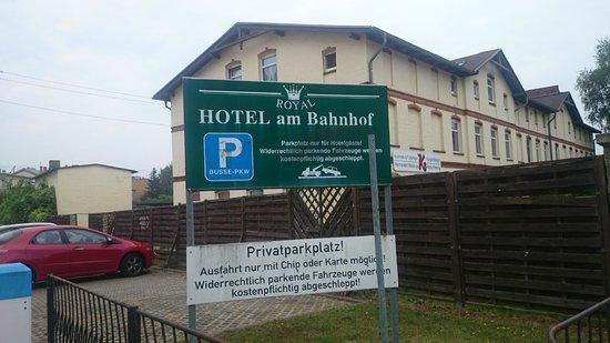 Royal Hotel Stralsund: Parkering