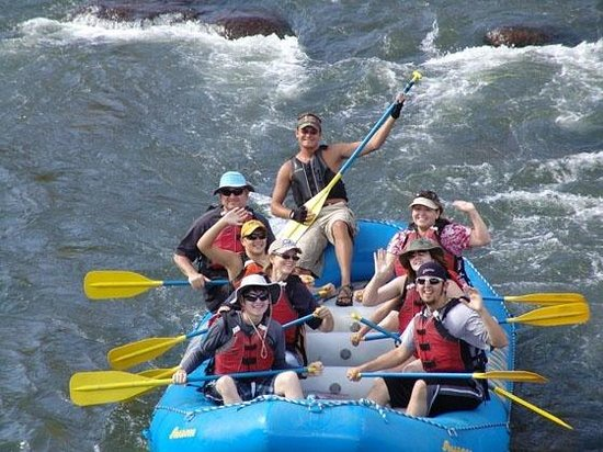 South Fork, Kolorado: Mountain Man Rafting