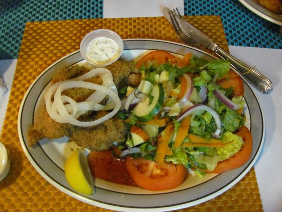 Kurt's Corner: rouper and salad