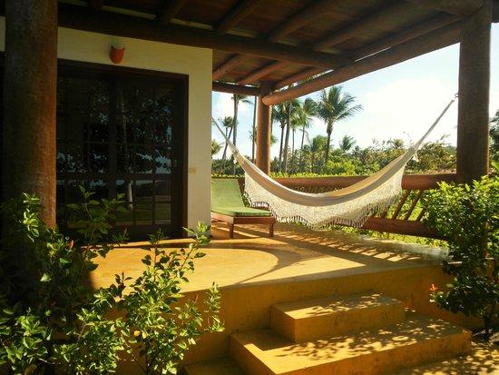 Pousada Fazenda Caeira: Varanda - Apartamento Master Luxo Terreo 3° Praia