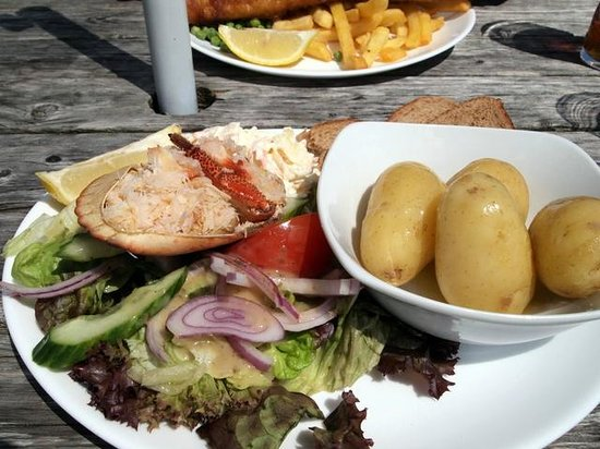 The Rising Sun: Crab salad