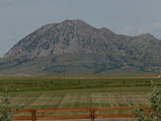 Buffalo Chip Campground : Great Scenery across the road