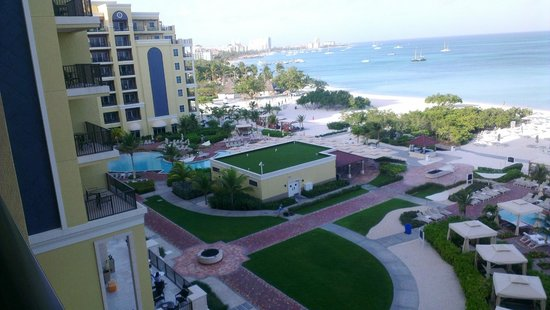 The Ritz-Carlton, Aruba: vista de la hab
