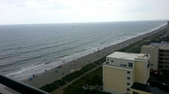 Hampton Inn & Suites Myrtle Beach/Oceanfront: View from the 12th floor