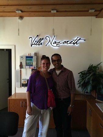 Villa Nazareth Hotel: The Best STAFF!