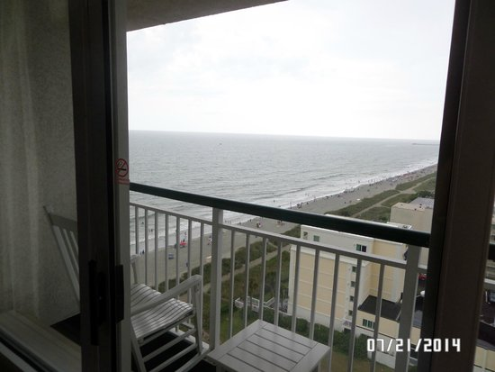 Hampton Inn & Suites Myrtle Beach/Oceanfront: View from the 12th floor