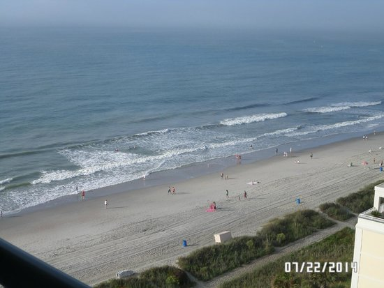 Hampton Inn & Suites Myrtle Beach/Oceanfront : View from the 12th floor
