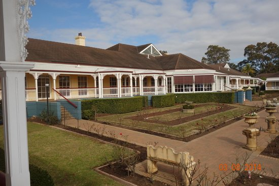 Kirkton Park Hotel Hunter Valley: Picturesque quiet country setting