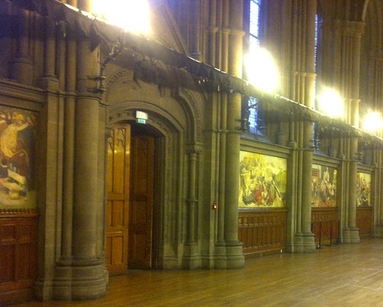 Manchester Town Hall: Part of the Great Hall