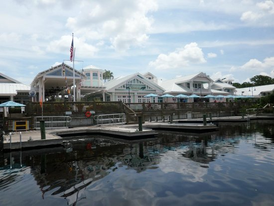 Disney's Old Key West Resort : View from Boat - Restaurant Area