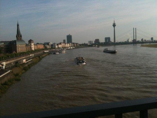 Altstadt: Vista dal ponte