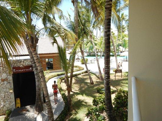Grand Palladium Punta Cana Resort & Spa: desde el balcón