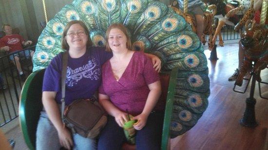 Fort Wayne Children's Zoo: Riding the Carousel