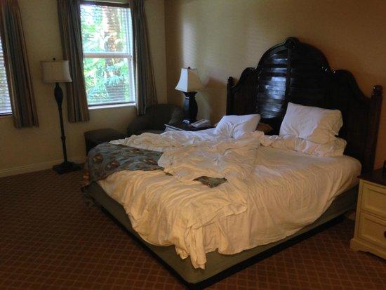 Disney's Old Key West Resort : Main Bedroom