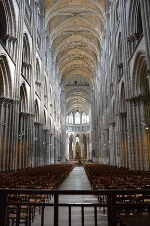 Cathédrale Notre-Dame de Rouen : La nef