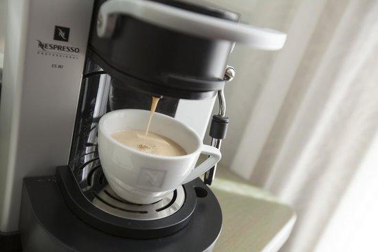Hotel de Pauwenhof: Nespresso
