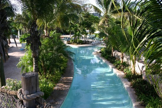 Beaches Turks & Caicos Resort Villages & Spa : Lazy River