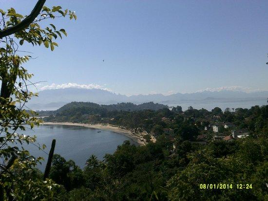 Paqueta Island Beach: Vista do Mirante no Paque Dharke de Mattos