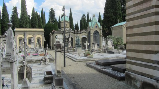 Basilica San Miniato al Monte : Tombs in the Cemetery