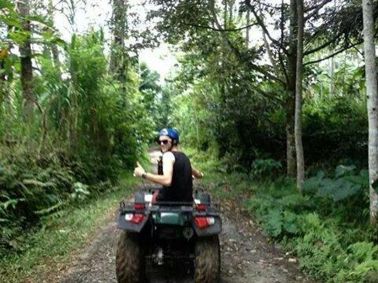 Bali Island Adventure Tour : Quad bike love it
