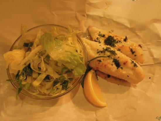 Rockfish Dartmouth: Grilled monkfish