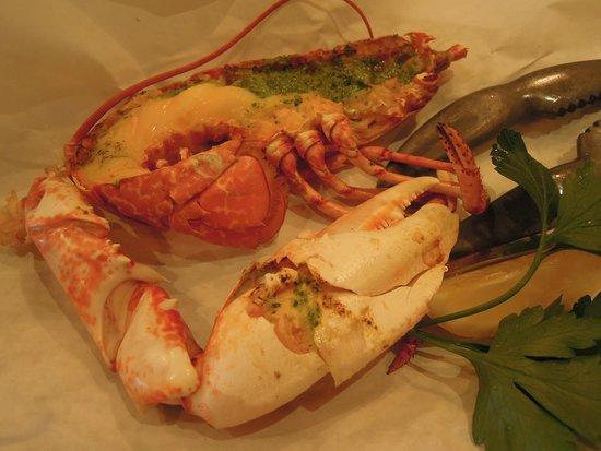 Rockfish Dartmouth: Half lobster for lunch