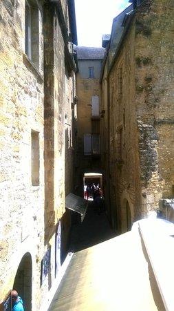 Les Chevaliers de la Tour : vue de la terrasse