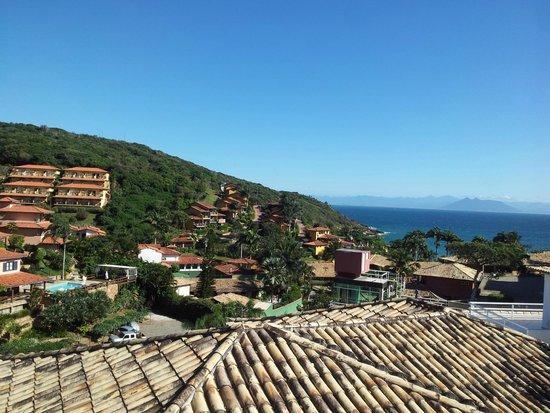 Hotel Pousada Experience Joao Fernandes: Vista do quarto do hotel!!!