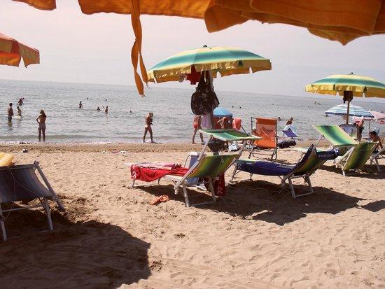 Oasi Verde: la spiaggia riservata all'hotel