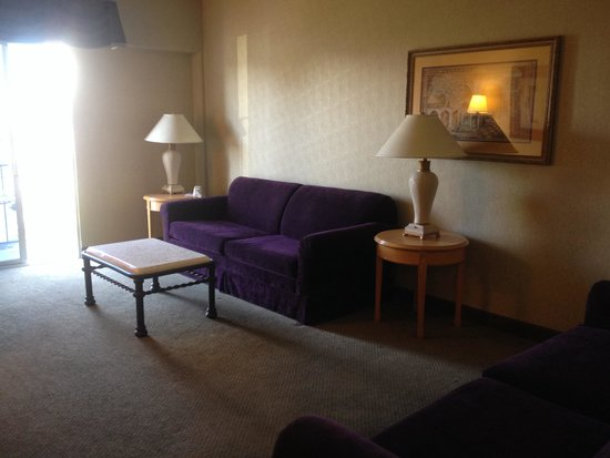 Royal Resort: El living de mi habitacion