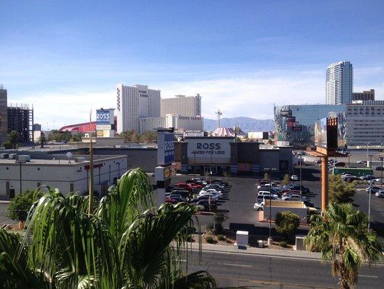 Royal Resort: La vista desde el balcon de mi habitacion.