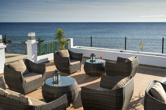 Blue Sea Costa Teguise Beach: terrace view