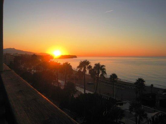 Buenavista: amanecer desde el balcón