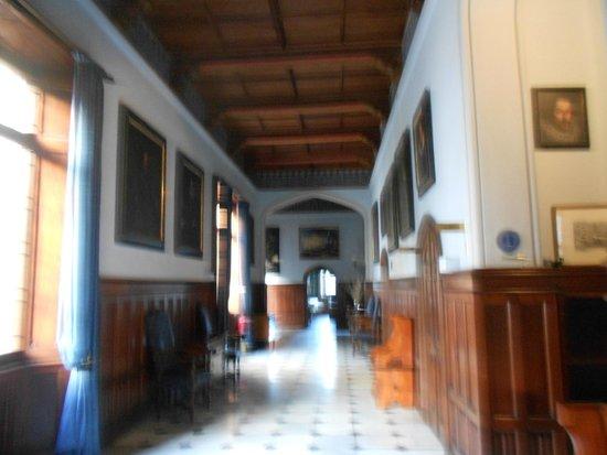 Castello Dal Pozzo: galleria piano terra