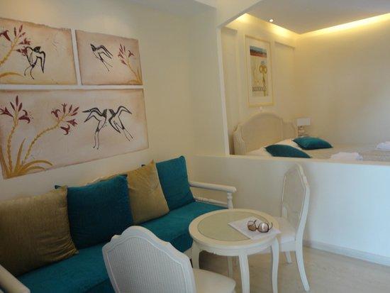 Hotel Santorini: quarto em que fiquei