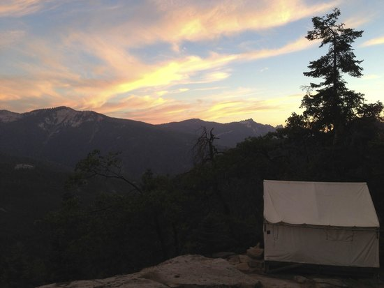 Tent 4 at Bearpaw High Sierra Camp