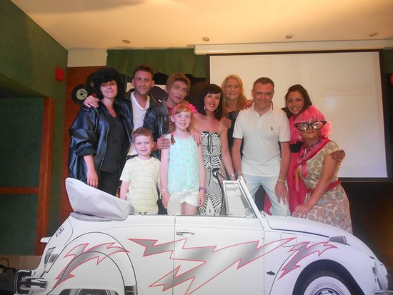 Hotel Golden Port Salou: us with the animation team