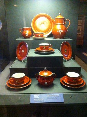 Museum of Decorative Art and Design: My favorite piece, a porcelain set by Jēkabs Bīne
