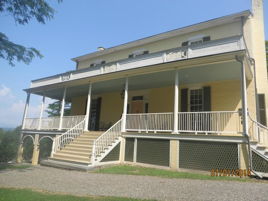 Thomas Cole National Historic Site: Cole House - front view