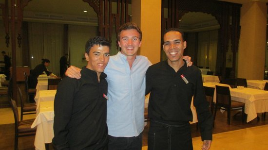 ClubHotel Riu Tikida Palmeraie : Otman (left) and Mohammed (right) with my partner, look out for these!