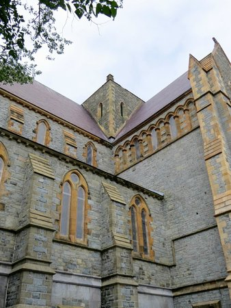 Anglican Cathedral  of St. John the Baptist: Corner View