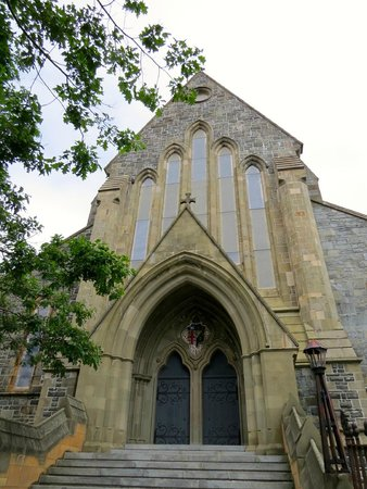 Anglican Cathedral  of St. John the Baptist: Exterior